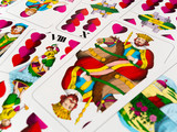 King of hearts german playing cards