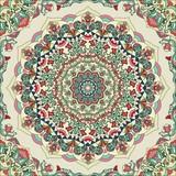 Mandala mit Pflanzenmotiv - 131679634