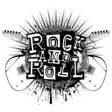 Guitar Rock And Roll_var 3