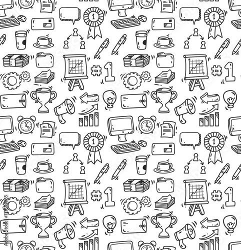 biznesowy-doodle-tlo