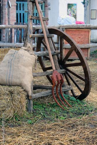 Valokuva  vecchia fattoria