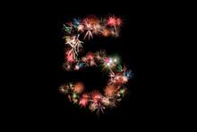 Number 5. Number Alphabet Made...