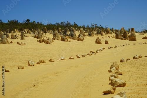 The Pinnacles Desert in Nambung National Park, north of Perth, Western Australia