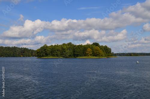 Poster Lac / Etang Jezioro Augustowskie/The Augustowskie Lake, Poland