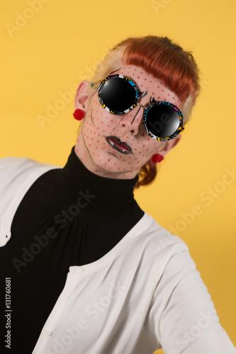 Fototapety, obrazy: Pop art fashion girl