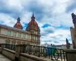 Municipal Palace in the historic center of La Coruna, Galicia, Spain