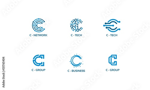 C Tech Initial Set Lgo variations