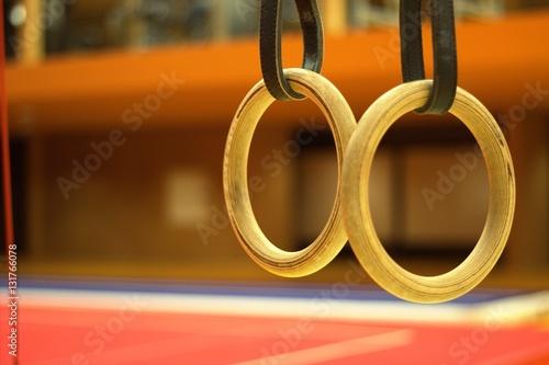 Tuinposter Gymnastiek Gymnastic equpment