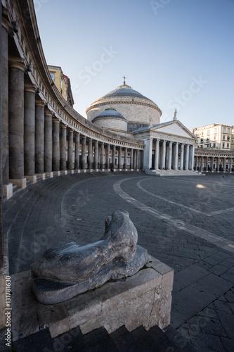 Fényképezés  Piazza del Plebiscito, Napoli
