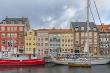 Copenhagen Nyhavn Waterfront