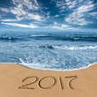 2017 in the beach shore