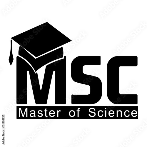 MSC - Master of Science - Buy this stock vector and explore