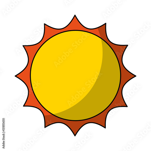 sun silhouette isolated icon vector illustration design buy this