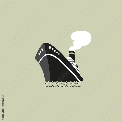 Photo Nautical symbol concept