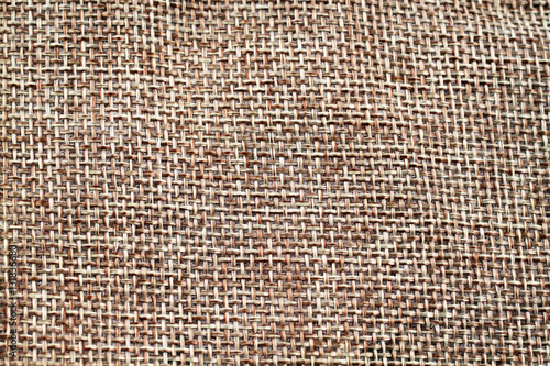 Fotografiet  A high resolution image of a woven textured background