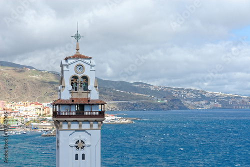 Photo  Seaside Town Tenerife Canary Islands