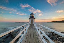 Marshall Point Lighthouse Suns...