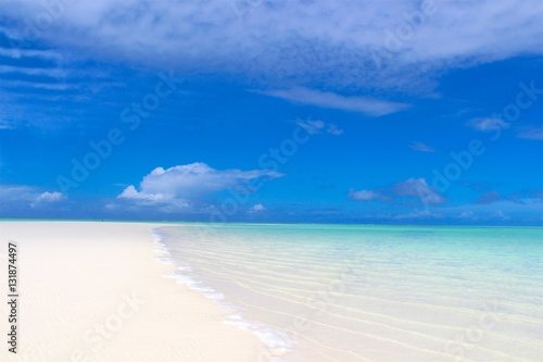 In de dag Zanzibar White Sanded Beach - Zanzibar