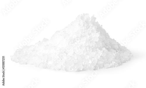 Poster Aromatische Salt isolated on white