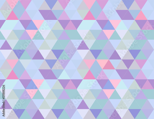 Abstract Relaxing Background Pattern Seamless Triangles