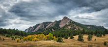 Flatiron Mountains In Boulder ...