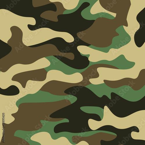 Photo  Camouflage pattern background
