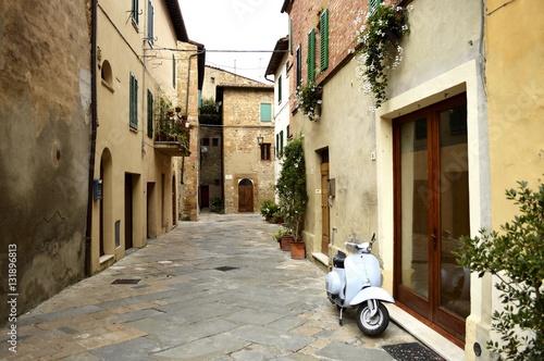Fotografie, Obraz  Pienza, Toscana - Itália
