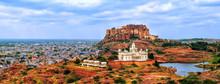 Panorama Of Blue City Jodhpur,...