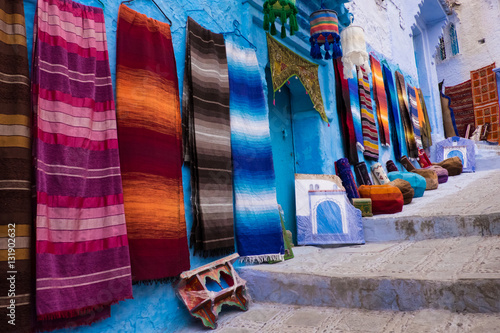 Staande foto Afrika Africa,North Africa,Morocco, Chefchaouen or Chaouen is the chief town of the province of the same name.