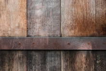 Old Wood Panels Texture With R...