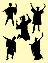 Graduation Silhouette. Good Us...
