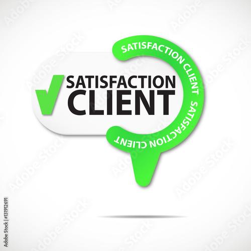 épingle bouton web : satisfaction client Acheter ce