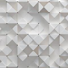 Fototapeta Nowoczesny 3d illustration of geometric pattern