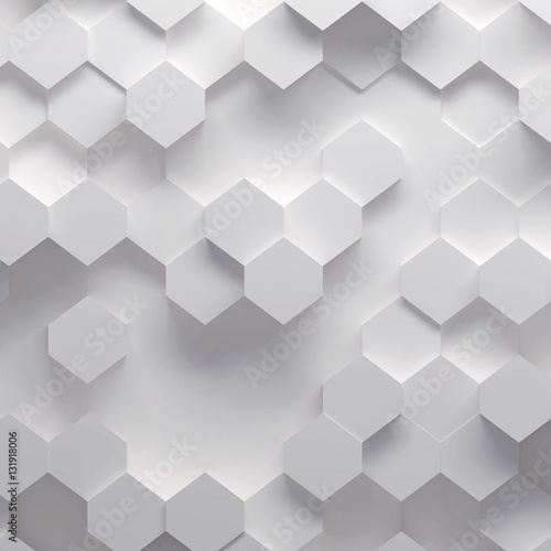 3d illustration of geometric pattern