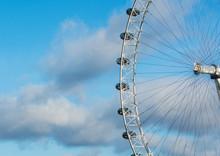 View Of The London Eye,  Engla...