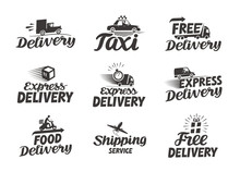 Express Delivery Service Logo....