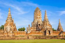 Temple De Wat Chai Watthanara...