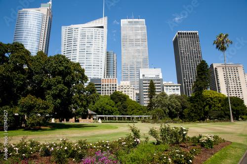 Poster Los Angeles Botanical Garden - Sydney - Australia