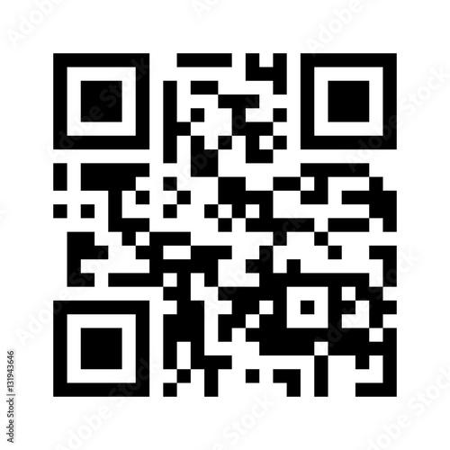 Fotomural Qr code