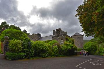 Fototapeta na wymiar Irland - Glenveagh Castle