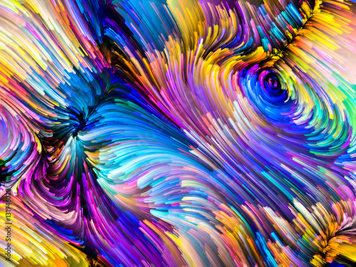 Fototapety, obrazy: Virtual Color