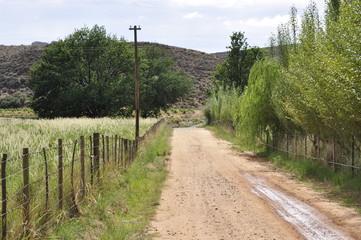 Fototapeta na wymiar Roads of the Cedarberg, Western Cape, South Africa