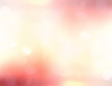 Blurred Colorful Soft Glowing Background With Shiny Lens Flare Light