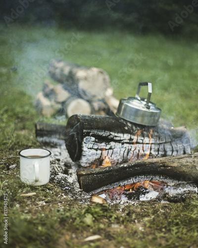 Fototapety, obrazy: Cooking breakfast.