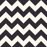 Fashion zigzag pattern, seamless vector background - 131968855
