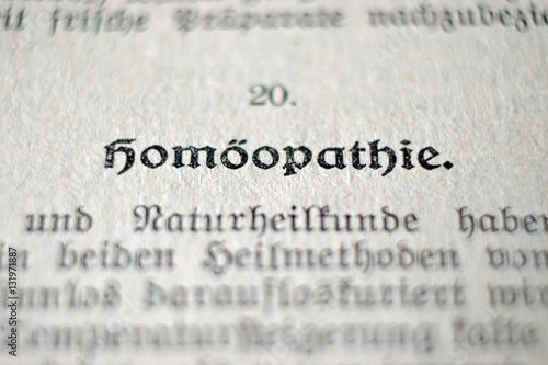 Photo Homöopathie