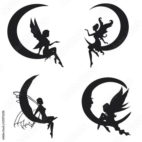 Fairy vector illustration Tablou Canvas