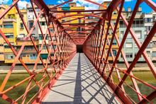 Eiffel Bridge In Girona