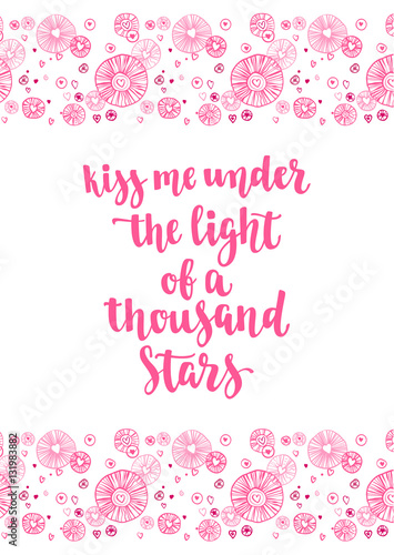 Valentine's Day Quote Romantic Saying For Posters Cards Or Leaflet Amazing Romantic Saying