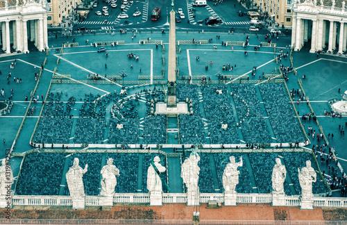 Photo  Piazza San Pietro in Vatican City, Rome